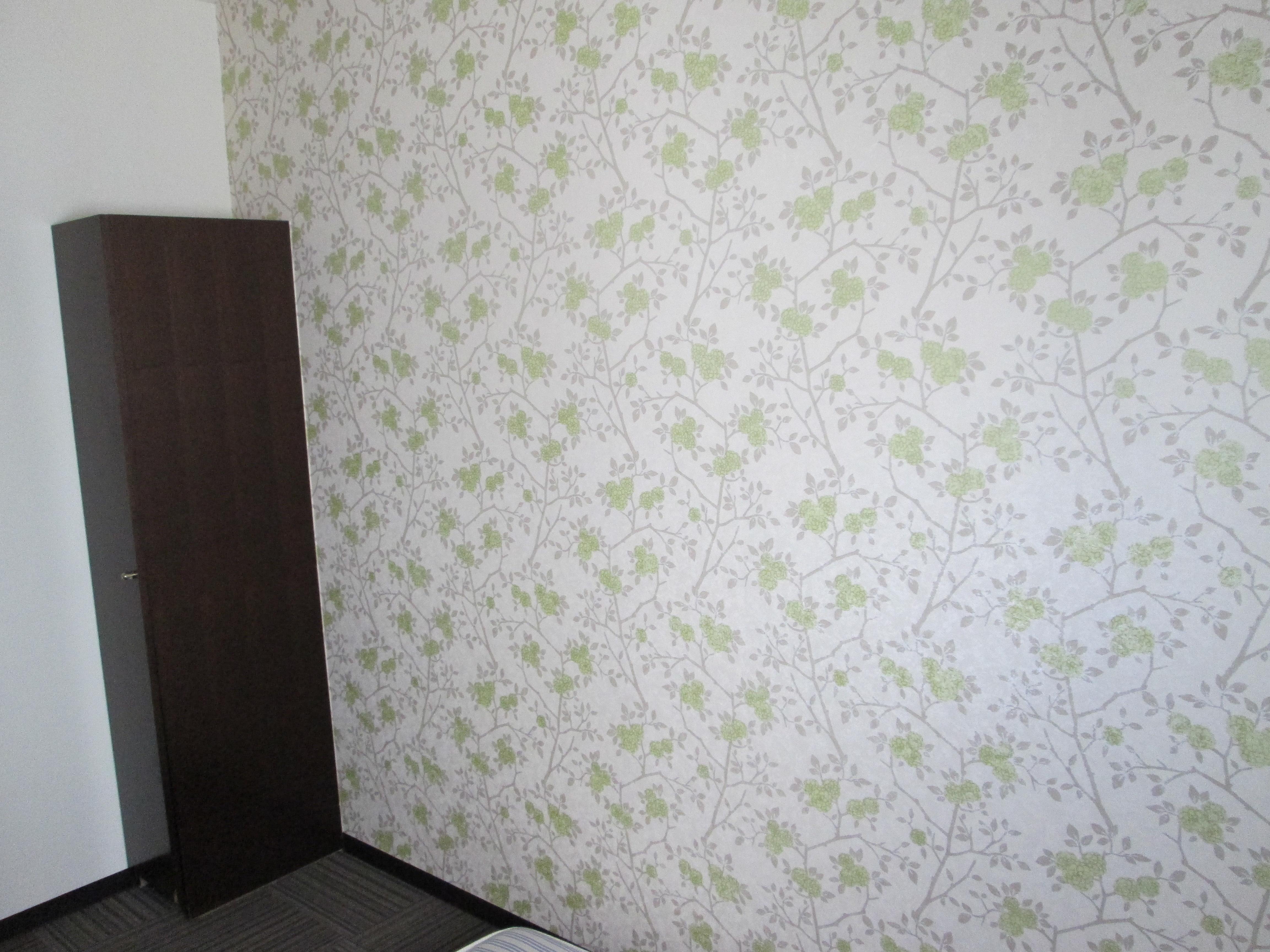 部屋の壁紙完了 ホテルウィングインターナショナル湘南藤沢